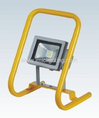 10W portable LED Flood Light with die-casting Aluminium body