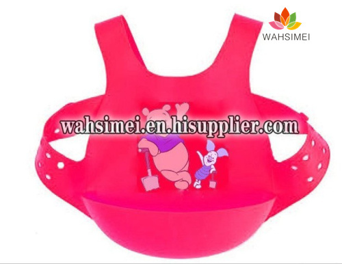 Silicone Baby Bibs for 6 month to 3 years old baby