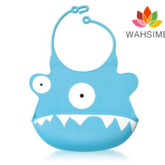 lovely silicone bibs for baby