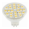 MR16 LED Lamp SMD Chips Glass without Cover Replacing Halogen Lamps
