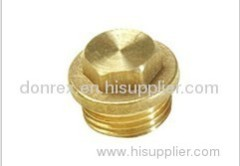 Brass Plug - high level