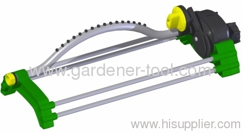 lawn water sprinkler with plastic jet