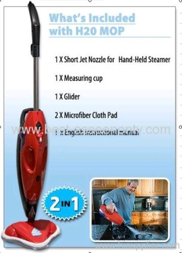 3 in 1 H2O steam mop cleaning as seen on tv
