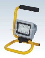 Portable 6W(6x1W) LED Flood Light with Aluminium body
