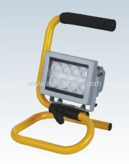 8W (8x1W) portable Aluminium LED Flood Light