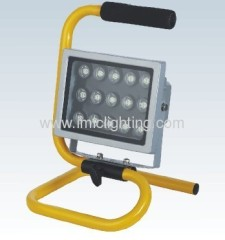 Moveable 15W (15x1W) Aluminium LED Flood Light