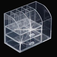 Multi-functional tabletop acrylic makeup storage boxes