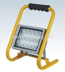 Portable 15W(15x1W) Aluminium LED Flood Light