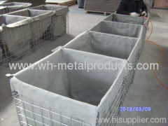 Military Welded Mesh Barrier