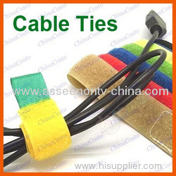 As see on tv 12 pieces Cable Ties Velcro Straps Wire PC TV