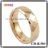 gold rose tungsten ring