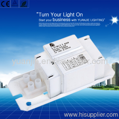 Ningbo 13W magnetic ballast for compact fluorescent lamps