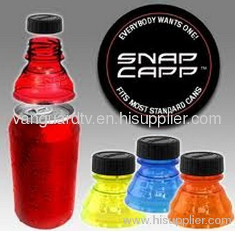 Snap Capp Bottle Tops for Cans