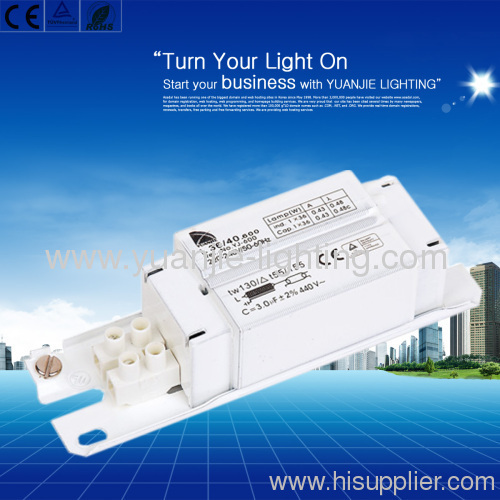 26W fluorescent lamps ballasts