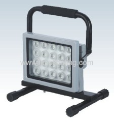 Portable 20W (20x1W) high power Aluminium LED Flood Light