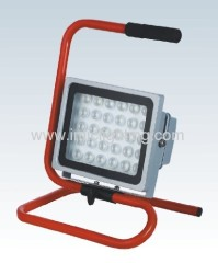 Portable 30W (30x1W) Aluminium LED Flood Light