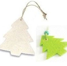 Eco-Friendly Laser Cut Christmas Felt Hanging