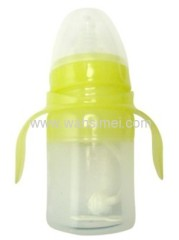 Convenient and practical fashion silicon baby bottle