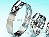 Stainless Steel Hose Clamp, Worm Gear Hose Clamp