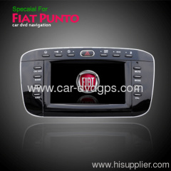 fiat punto dvd player gps radio bluetooth ipod tv steering wheel control blue&me