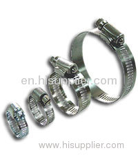 8mm(5/16), 12.7mm(1/2) or 14.2mm(9/16)Stainless Steel Hose Clamp