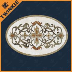 floor paving decorative stone medallion