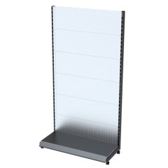 Economy advertising floor stand display for tv mount
