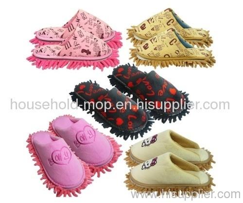 Popular chenille microfiber slippers