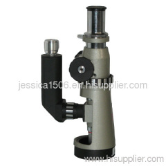 100× - 500× Portable Metallurgical Microscope with Rechargeable LED Illuminator