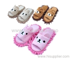 Multifunctional chenille shoe covers clean slippers
