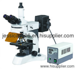 Excellent Upright Fluorescent Microscope with High Resolution Fluorescent Objectives