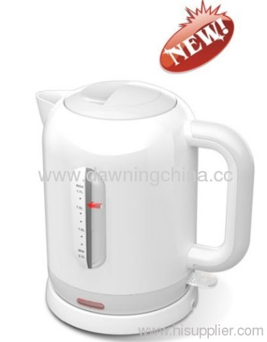 electrical plastic kettle CE certed RoHS certed