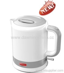 small electrical plastic kettle