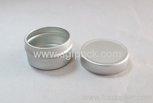 5ml Aluminum jar essence cream jar cosmetic package aluminum container gold supplier High quality products