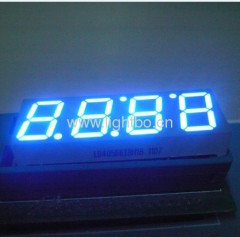 Ultra bright blue common anode 4 digit 0.56 inch 7 segment led display for clock and oven timer control