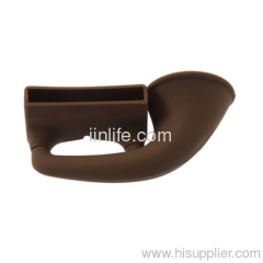 brown silicone speaker for ihpone5
