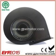 PWM Variable velocidad simple aspiración CE ventilador centrífugo 230V con el impeledor curvado hacia adelante G1G140
