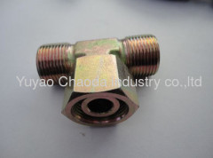 BRANCH TEE FITTINGS WITH SWIVEL NUT