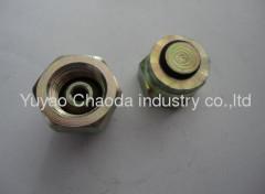 9C/9D Metric Thread Bite Type Female Plug