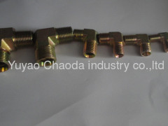 90°ELBOW BSPT MALE OF METRIC THREAD BITE TYPE TUBE FITTINGS