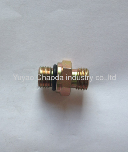 METRIC THREAD WITH CAPTIVE SEAL/METRIC FEMALE 24°CONE O-RING SEALING