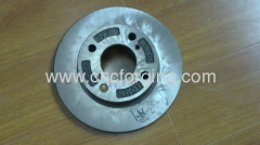Auto brake flange machining parts