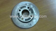 Auto brake flange machining parts