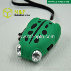 frog shaped dynamo torch light