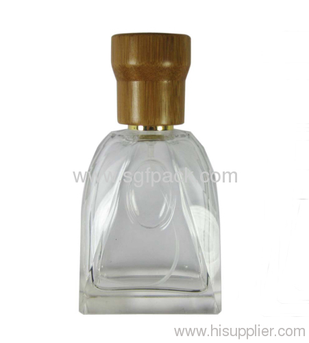 Bamboo cap Perfume Bottle cap natural package for perfume cosmetic container
