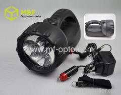 portable rechargeable spotlight battery