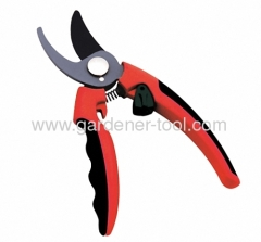 handle shear as pruning shear with double color soft handle
