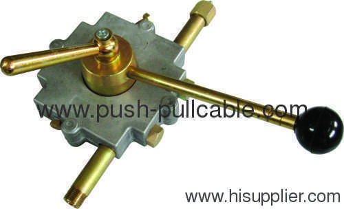 Single Lever Control Cable : Control box single lever from china manufacturer luoyang