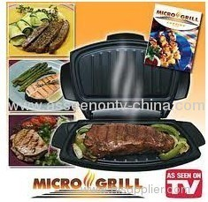 Non stick aluminum micro grill as seen on tv