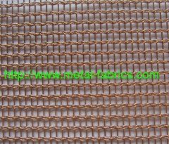 Brass decorative material ,metal woven mesh